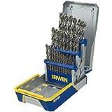 IRWIN Tools Cobalt High-Speed Steel Drill Bit, 29-Piece Metal Index Set (3018002B)