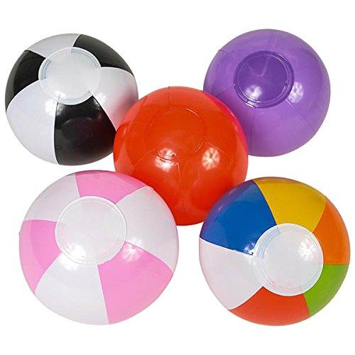 Mini Beach Ball Assortment - 25 pieces