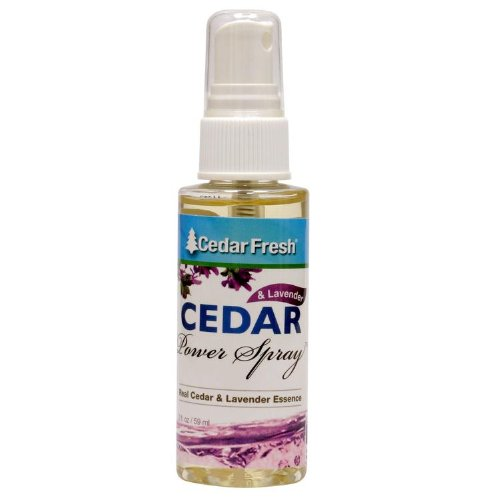 CedarFresh Cedar Power Spray with Lavender Essence, 2 fl. oz. (Moth Repellent Spray compare prices)