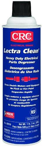 Crc Lectra Clean Heavy Duty Electrical Parts Liquid Degreaser, 19 Oz Aerosol Can, Clear