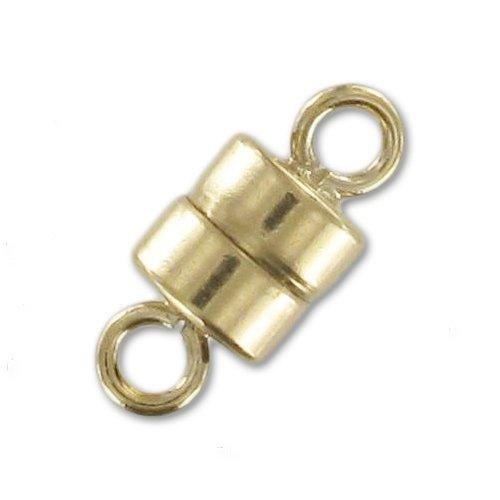 14K Gold Filled Magnetverschluß 4mm x1