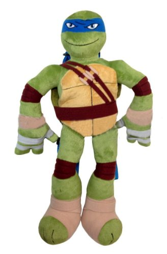 Teenage Mutant Ninja Turtles Leonardo Blue Full Body Plush Backpack Doll Figure!