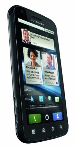 Motorola Atrix 4G Mobiltelefon (10,1 cm (4 Zoll) LED Display, Touchscreen, Android OS, 5 Megapixel Kamera) schwarz