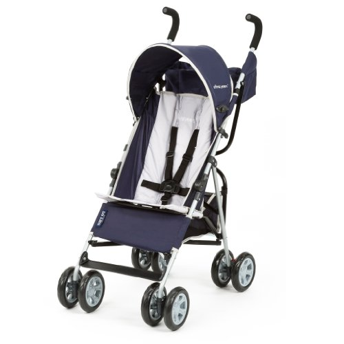 New The First Years Jet Stroller, Navy/Grey
