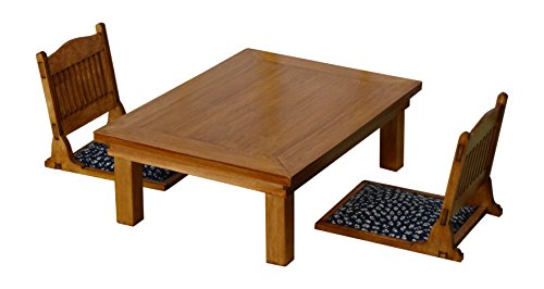 1/12 a set of table and Chair (Japanese Low Table compare prices)
