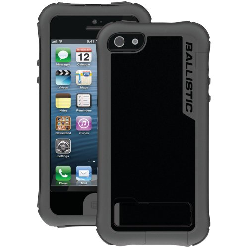 Great Sale IPHONE(R) 5 EVERY1 CASE WITH HOLSTER (CHARCOAL TPU/BLACK PC) (Catalog Category: IMPORT PRODUCTS / ACCESSORIZE YOUR APPLE)