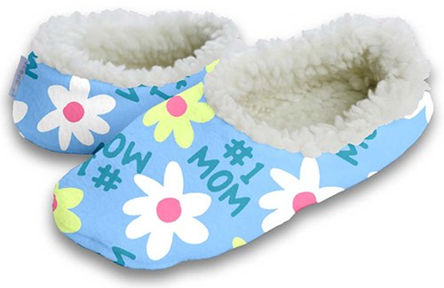 Cheap Snoozies Number 1 Mom Blue Footie (100-228P)
