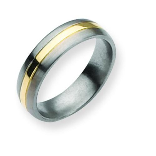 titanium 14k gold 6mm mens wedding ring size 8 your 1 source for