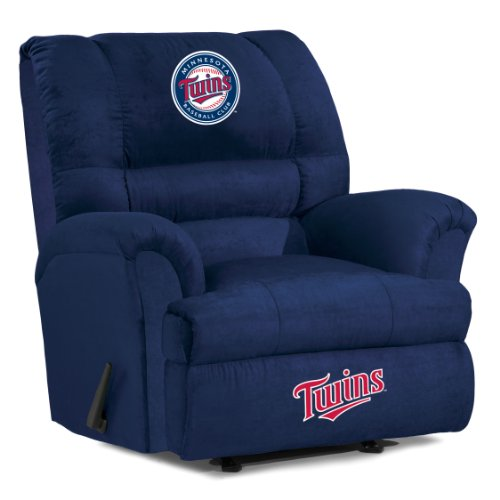 MLB Minnesota Twins Big Daddy Microfiber Recliner - 1