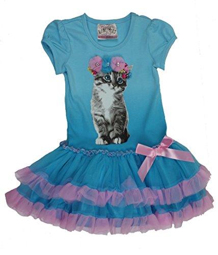 Beautees Little Girls Blue Dress