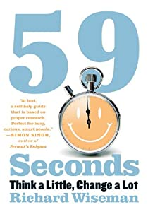 "Cover of ""59 Seconds: Think a Little, Cha..."