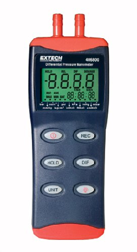 Extech 406800 Differential Pressure Manometer