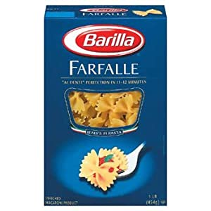 Barilla Farfalle Bow Tie Pasta 16 oz