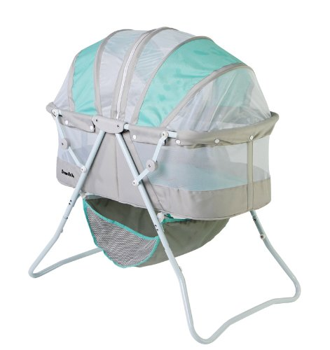 Dream On Me Karley Bassinet, Blue and Grey