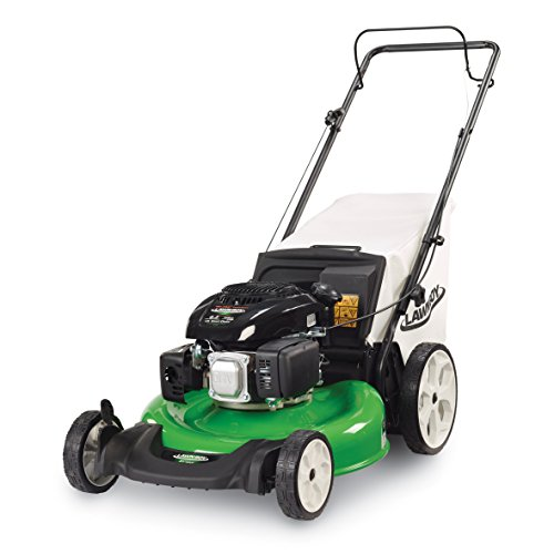 how to start a gas lawn mower