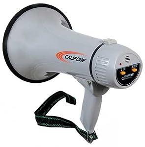 Califone Pa-15 15 Watt Megaphone with effective range of up to 1,000 feet, ABS... by Califone