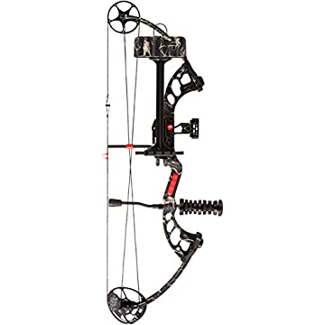 PSE Stinger X 70# Ready To Shoot Compound Bow Package (Skullworks Camo, Left Hand)