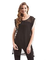 Prym Women's Tunic Shirt (1011516901_Black_X-Large)