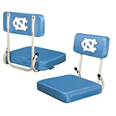 North Carolina Tar Heels Hardback Stadium Seat by Logo