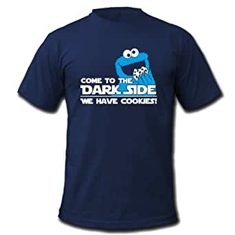 COME TO THE DARK SIDE WE HAVE COOKIES - Kinder T-Shirt Navy Gr.98-104