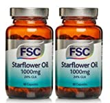 FSC STARFLOWER OIL 1000mg X 60 CAPSULES DOUBLE PACK 120 CAPSULES