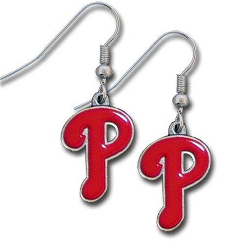 MLB Philadelphia Phillies Dangle Earrings