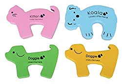 4 Pcs Door Pinch Finger Guard. Child Safety Child Proofing Accessories