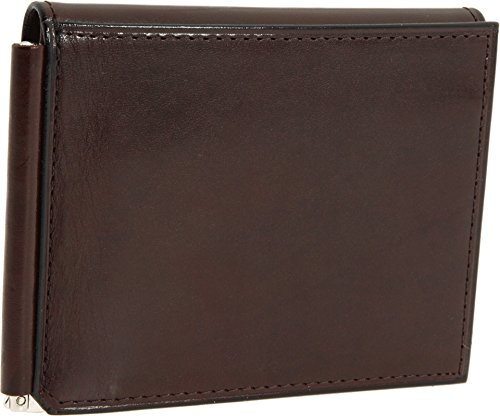 bosca-mens-old-leather-money-clip-with-outside-pocket-walletdark-brown