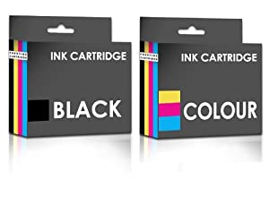 COMBO PACK - Remanufactured Canon PG-512 & CL-513 Ink Cartridges for Canon Printers Pixma iP2700, iP2702, MP240, MP250, MP252, MP260, MP270, MP272, MP280, MP282, MP480, MP490, MP492, MP495, MP499, MX320, MX330, MX340, MX350, MX410, MX420 - ONE SET