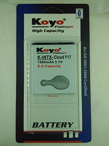 Koyo 1500mAh Battery (For Intex Cloud Y17)