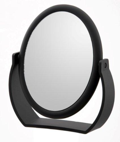 Danielle Midnight Matte Oval Vanity Mirror front-783840