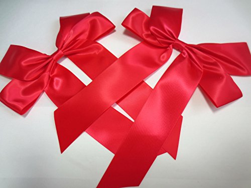 "2 X Big Gift Bow 20 X 30 Cm 8"" X 12"" : Red"