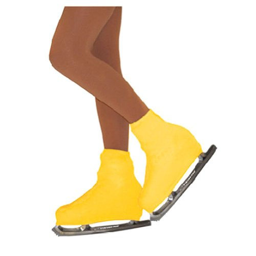 Chloe Noel Girls One Size Yellow Boot Cover Figure Skating Accessory