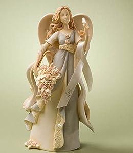 Enesco Foundations Love Angel Figurine, 9-Inch