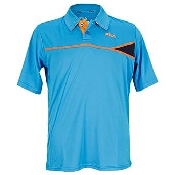 Buy Fila Boy's Baseline Classic Short Sleeve Polo Shirt by Fila