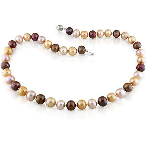 New York Pearls Multi-colored FW Pearl Strand (9-10 mm)
