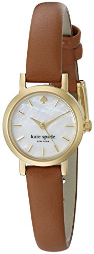 De Nueva york para mujer kate spade 1YRU0867 Tiny japonés Metro de cuarzo analógica marrón reloj