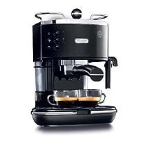 DeLonghi ECO310BK 15-Bar-Pump Espresso Machine Piano Black