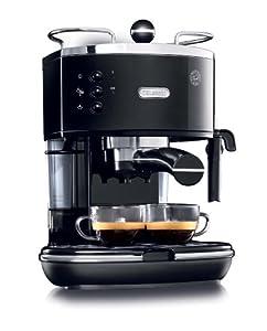 DeLonghi ECO310BK 15-Bar-Pump Espresso Machine, Piano Black by DeLonghi