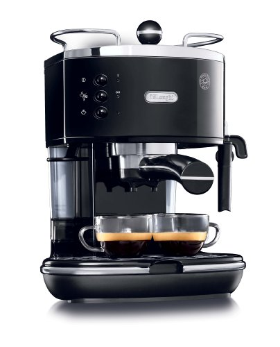 DeLonghi ECO310BK 15-Bar-Pump Espresso Machine, Piano Black Discount