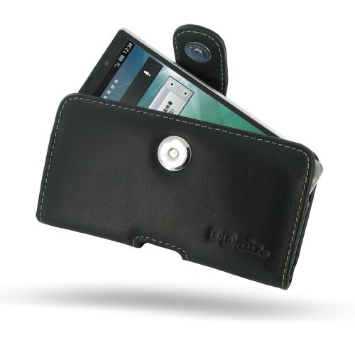 Sharp Aquos PhoneZETA Leather Case - SH-09D - Horizontal Pouch Type by Pdair (Sharp Aquos Leather compare prices)