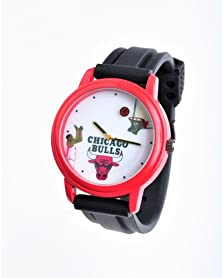 buy Nba Chicago Bulls Shooting Ball Red Watch And Black Band