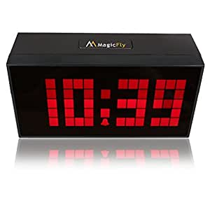 Buy keedox digital led snooze alarm clock wall desk for Led digital wall clock in india