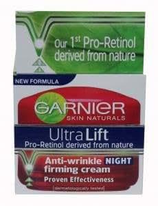 Garnier Ultralift Anti Wrinkle Firming Night Cream (50ml effective in 1 hour)