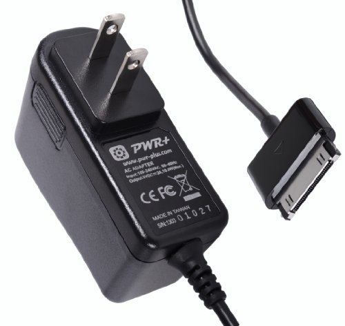 "Pwr+® Extra Long 6.5 Ft Cord Rapid 2A Charger Ac Adapter For Samsung Galaxy Tab 7"" Plus 7.7"" 8.9"" 10.1"" ; Samsung Galaxy Tab Note 2, 10.1, 1 Tablet, Pad Dc Power Supply Cord Charger (Pwrblast Series)"