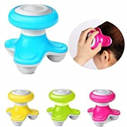 Mini Portable Vibration Electric Body Head Massager USB Acupoint Muscles Relaxing