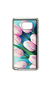 Pink Rose Stylish Mobile Case/Cover For Samsung Galaxy note 5