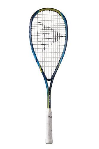 Dunlop Biomimetic Evolution 130 Unisex Squash Racquet - Blue/Yellow/Royal, 130 g