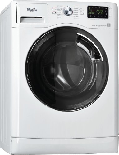 Whirlpool  AWOE 8247 Waschmaschine Frontlader / A+++ B / 1400 UpM / 8 kg / Weiß / 6th Sense Infinite Care / AquaEco / Touch display / Vollwasserschutz