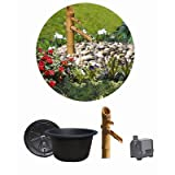Algreen 51002 Japanese Bamboo Serenity Pond Kit